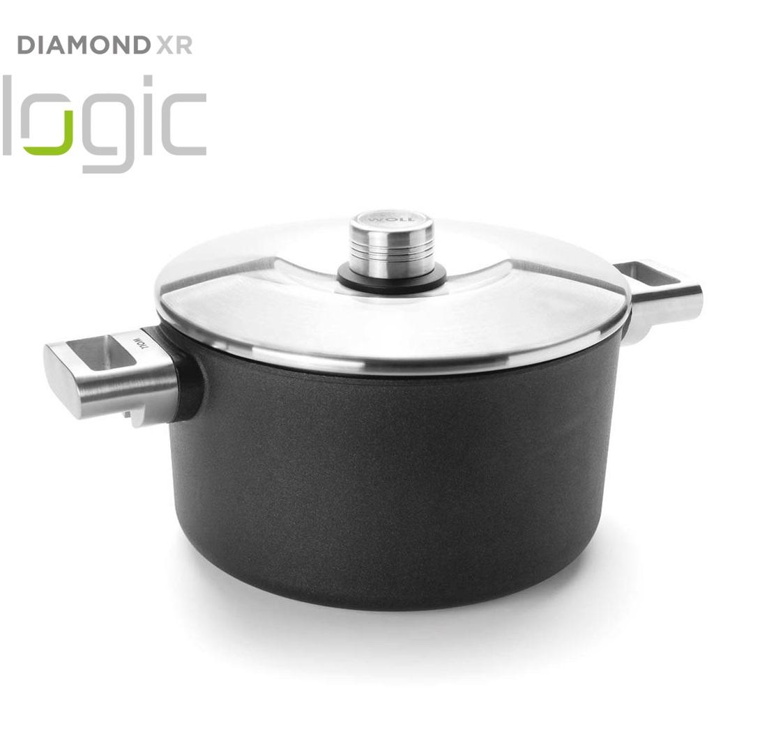 Hrnec s poklici Diamond PRO XR Logic 24 cm - WOLL