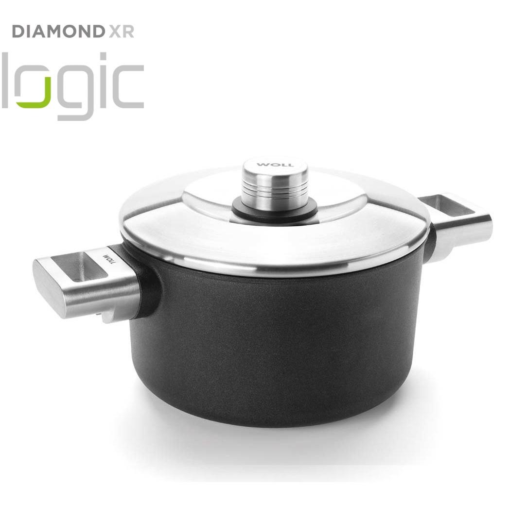 Hrnec s poklici Diamond PRO XR Logic 20 cm - WOLL