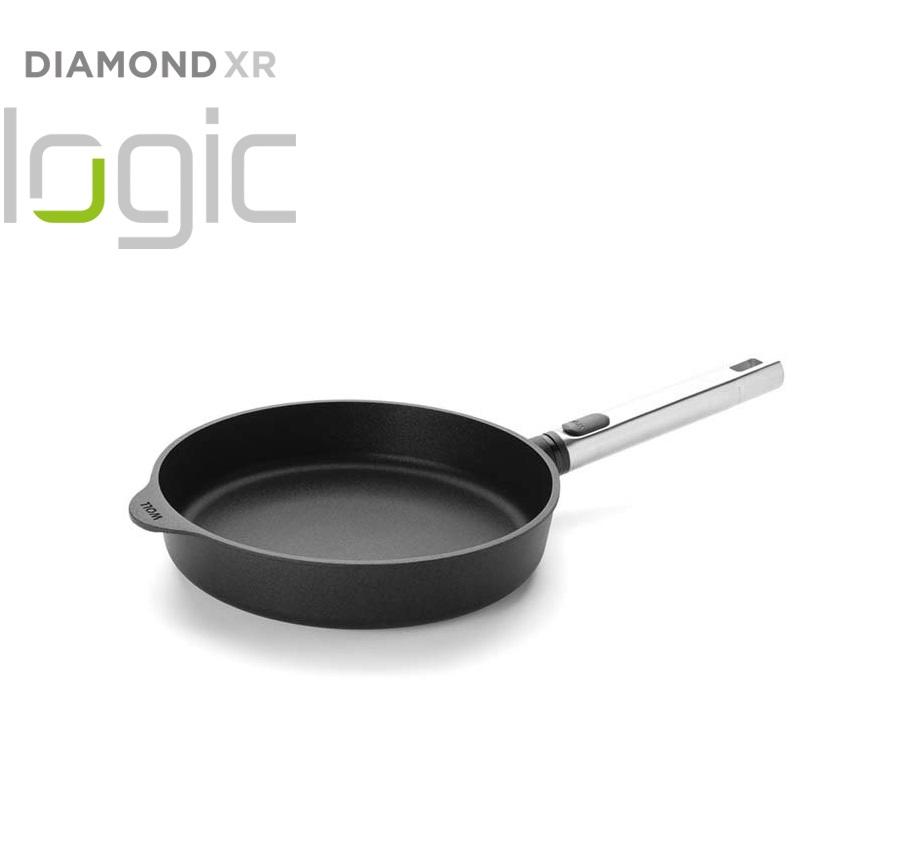 Pánev Diamond PRO XR Logic s odnímatelnou rukojetí 24 cm - WOLL