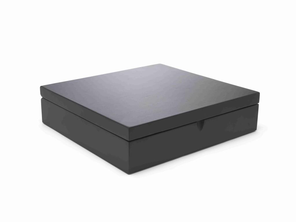 Krabička na porcovaný čaj BLACK, 12 přihrádek - Bredemeijer