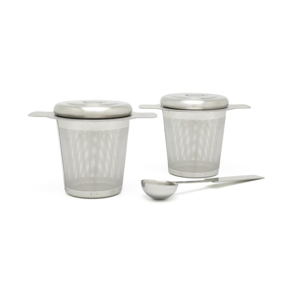 Sítko na čaj s odměrkou, 2 ks - Bredemeijer