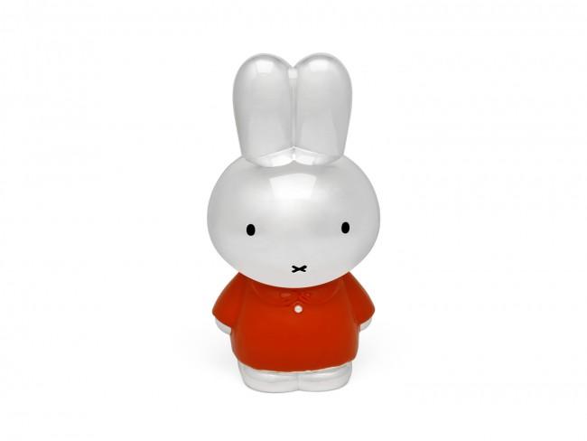Lesklá pokladnička králíček MIFFY v oranžovém obleku - Zilverstad