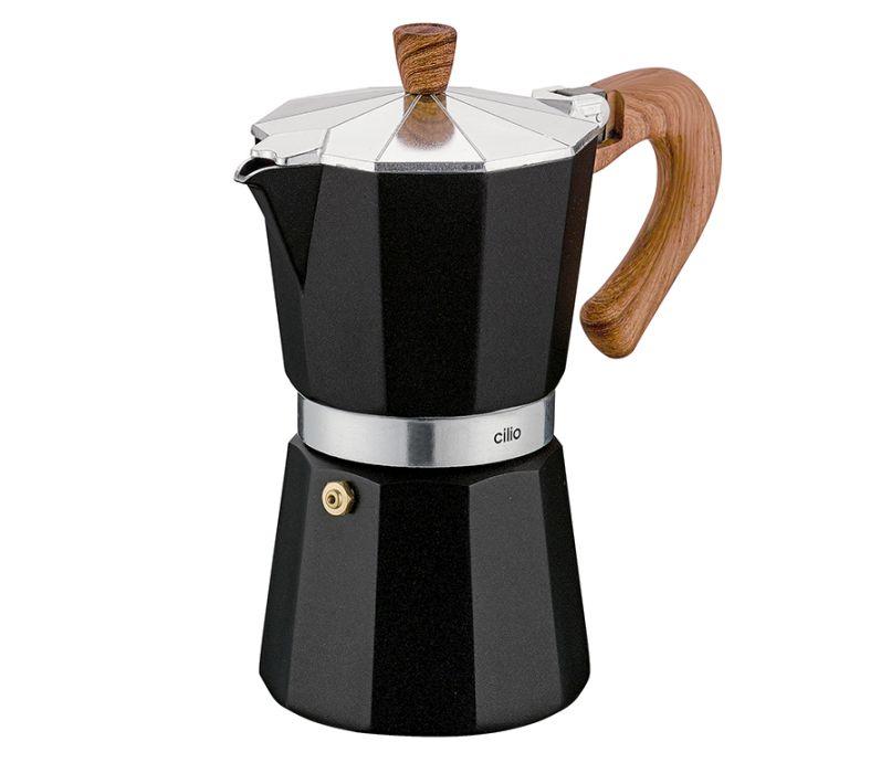 Kávovar espressa CLASSICO NATURA na 6 šálků 300 ml - Cilio