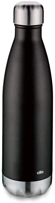 ELEGANTE termoláhev 500 ml, černá matná - Cilio