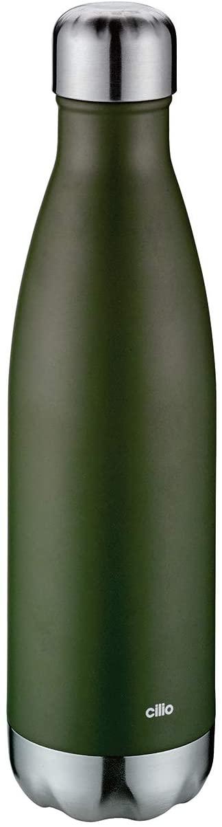 ELEGANTE termoláhev 500 ml, zelená matná - Cilio