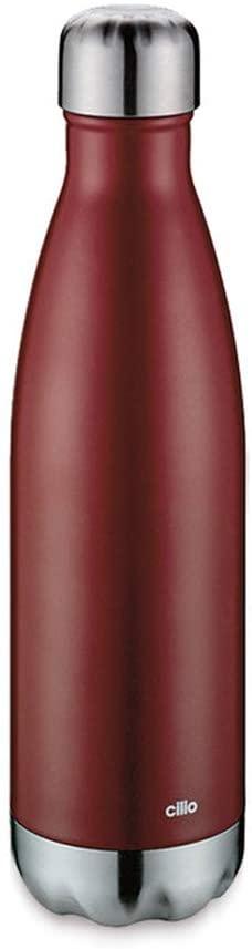 ELEGANTE termoláhev 500 ml, červená matná - Cilio