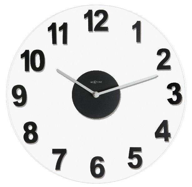 Nástěnné hodiny WOODY - NEXTIME