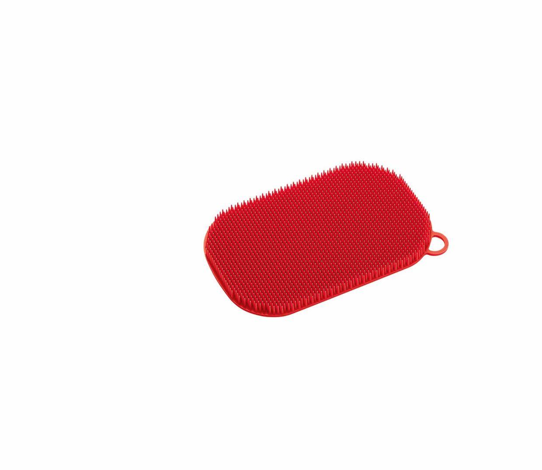 Silikonová houba na nádobí, červená  - Küchenprofi