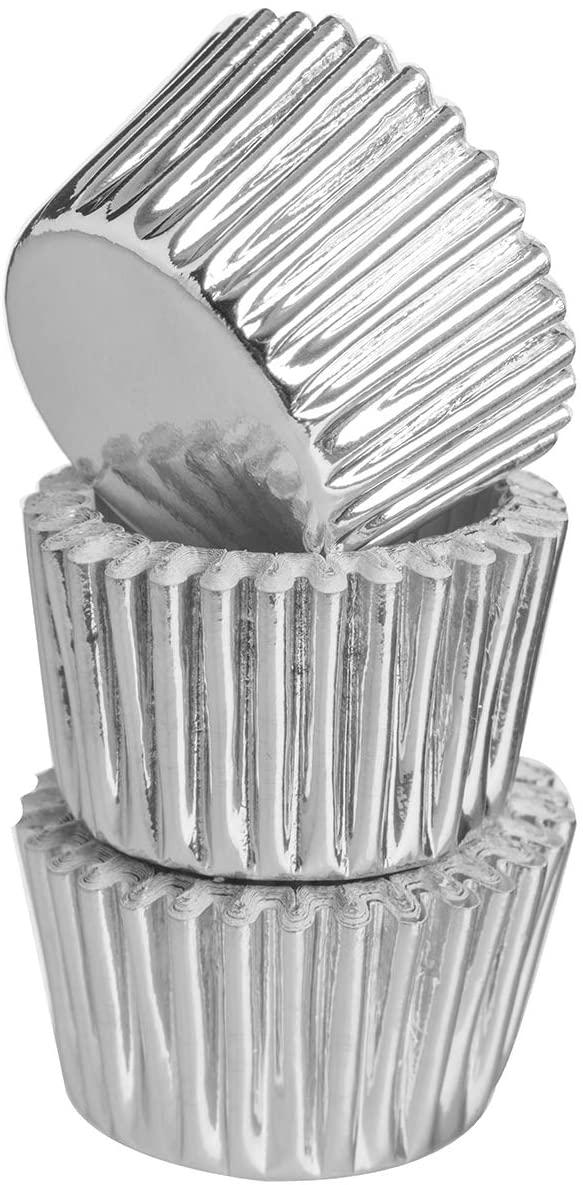 Papírové mini košíčky 40 ks, stříbrné - Mason Cash