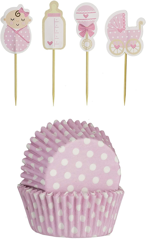 Papírové košíčky a dekorace, růžové - Mason Cash