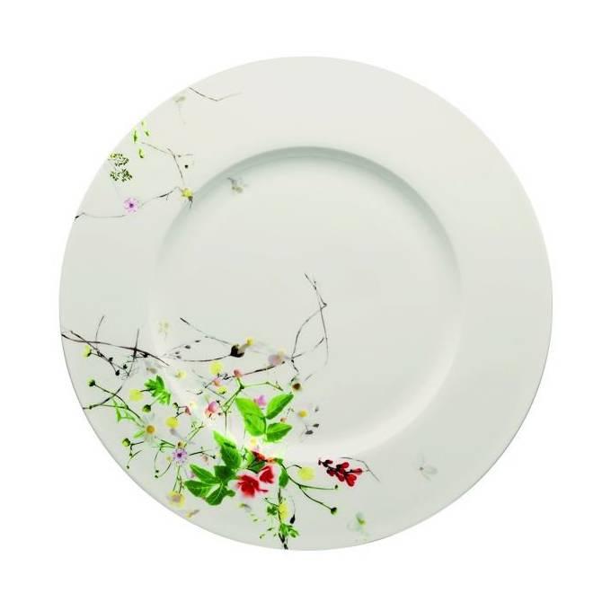 Brillance Fleurs Sauvages servírovací talíř 33 cm - Rosenthal