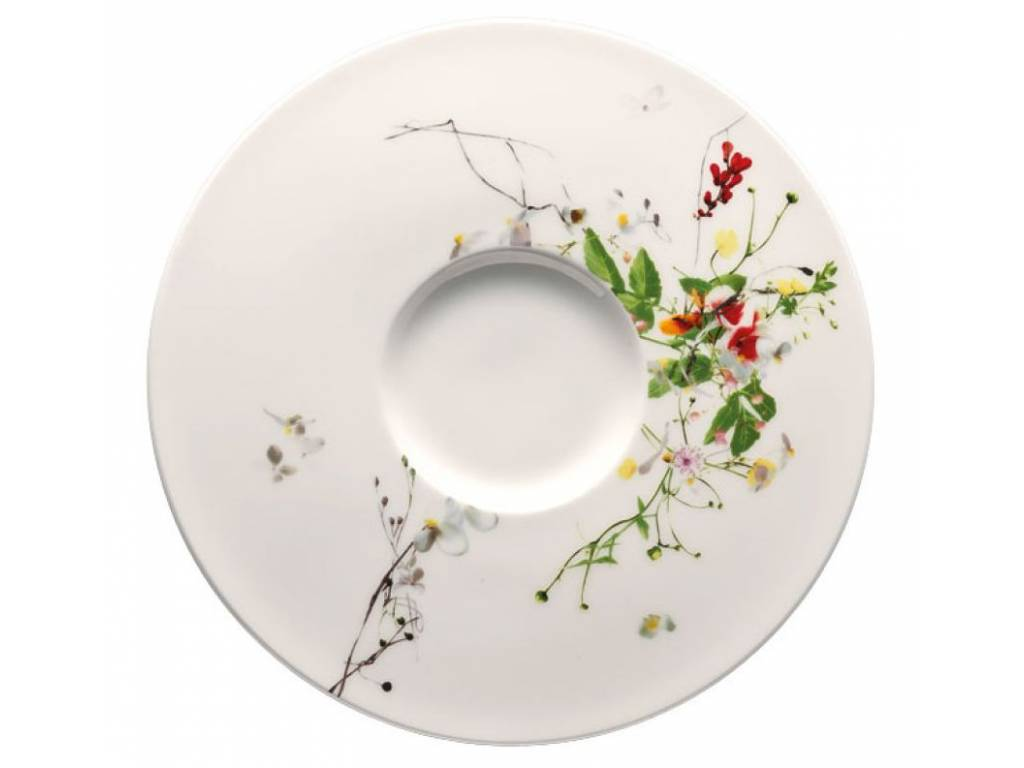 Brillance Fleurs Sauvages polévkový podšálek 18,5 cm - Rosenthal