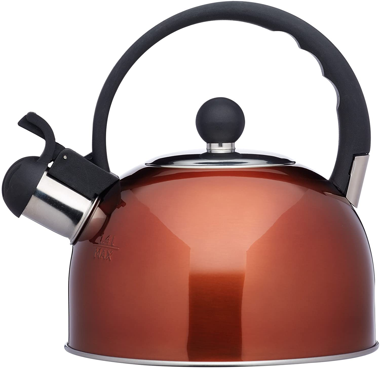 Konvice na vaření vody Le'Xpress Count 1,4l měděná barva - KitchenCraft