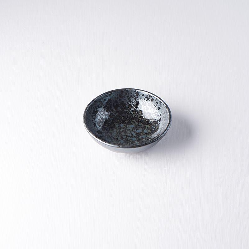 Mělká miska BLACK PEARL, 13,5 cm - Made in Japan
