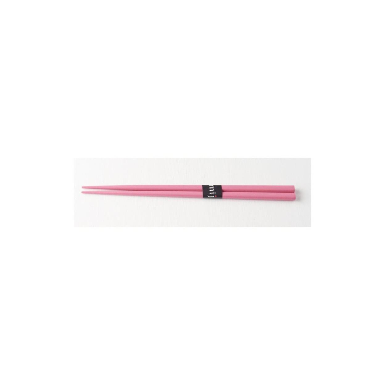 Jídelní hůlky, růžové - Made in Japan