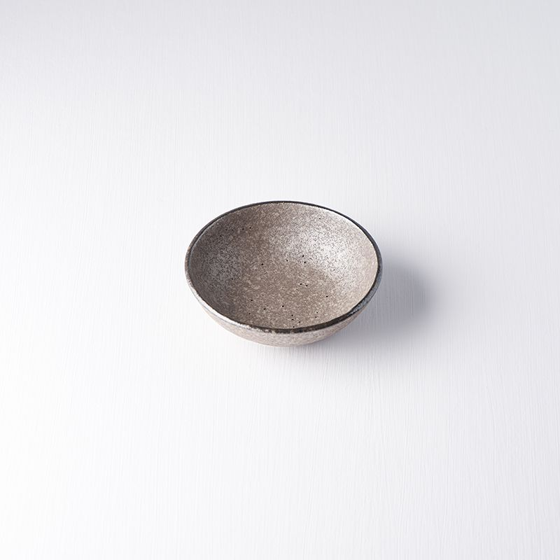 Miska EARTH BLACK, 13 cm - Made in Japan