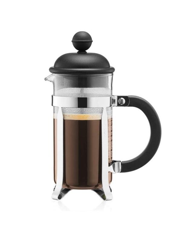 Kávovar French press CAFFETTIERA 0,35 l černý - Bodum