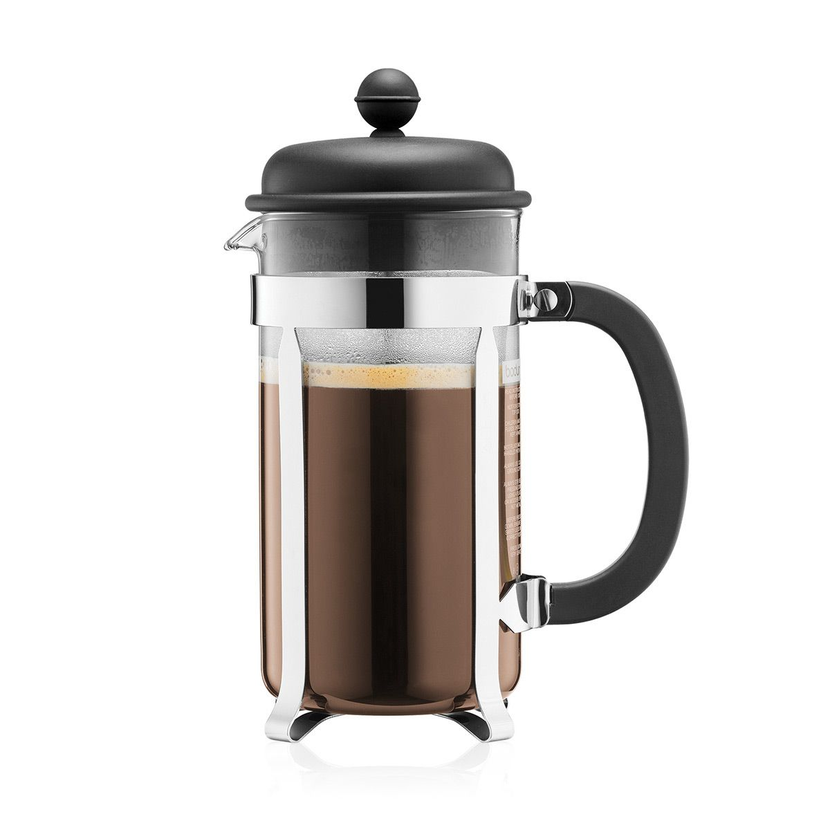 Kávovar French press CAFFETTIERA 1 l černý - Bodum
