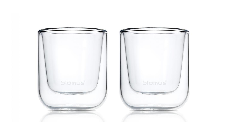 Termo sklenice na espresso NERO, 2 ks - Blomus