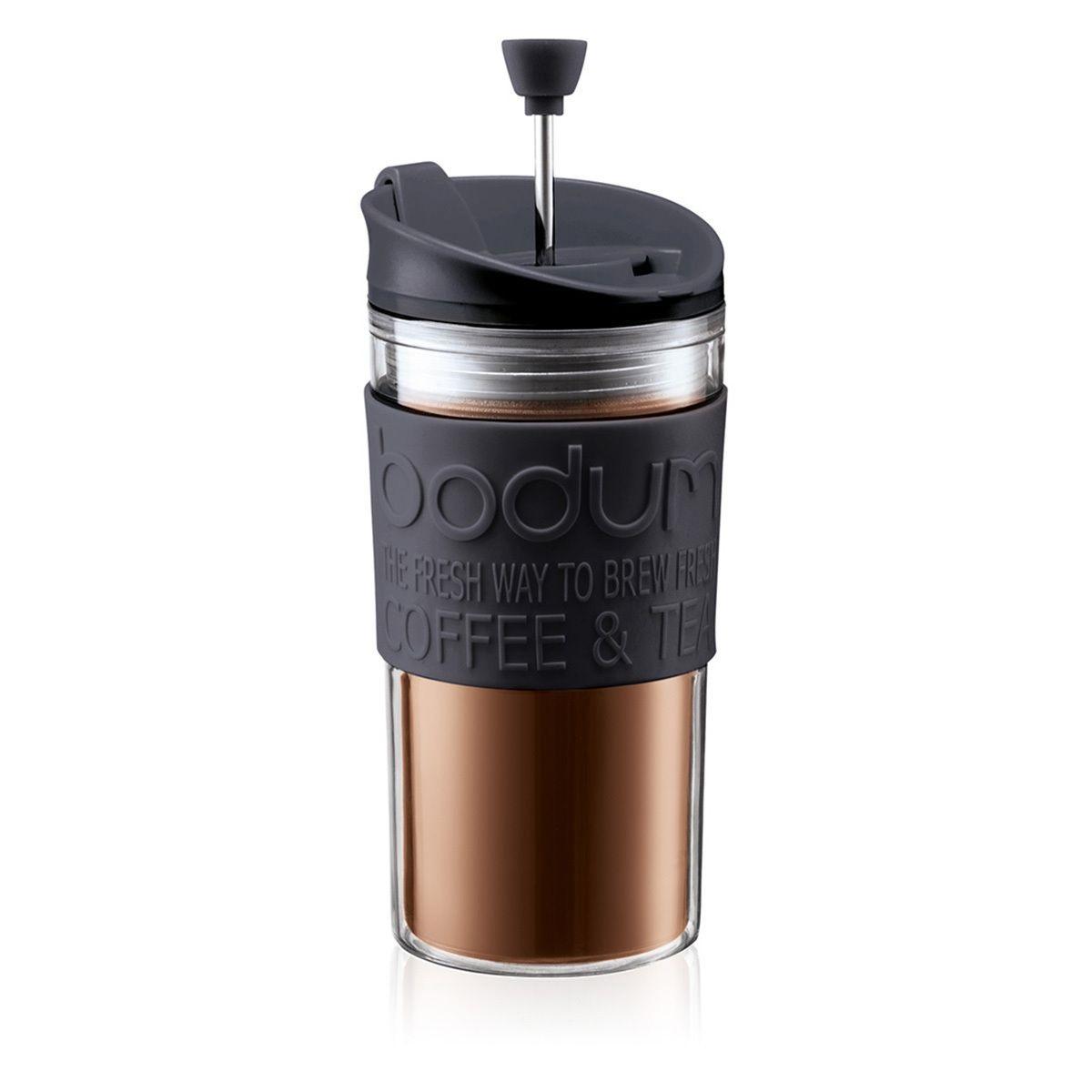 Cestovní french press 0,35 l černý TRAVEL PRESS - Bodum