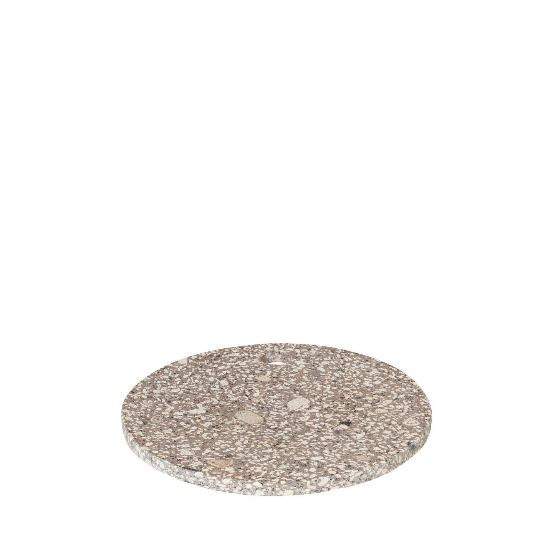 Servírovací kamenné prkénko ROCA 20 cm, kulaté - Blomus
