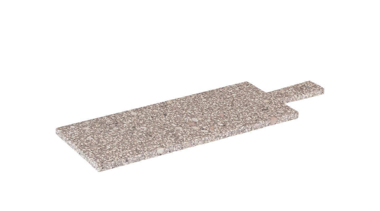 Servírovací kamenné prkénko s rukojetí ROCA 44x15 cm - Blomus