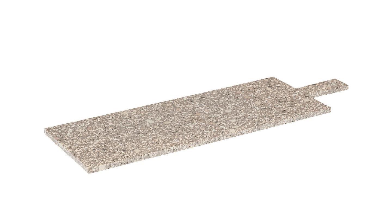 Servírovací kamenné prkénko s rukojetí ROCA 55x18 cm - Blomus
