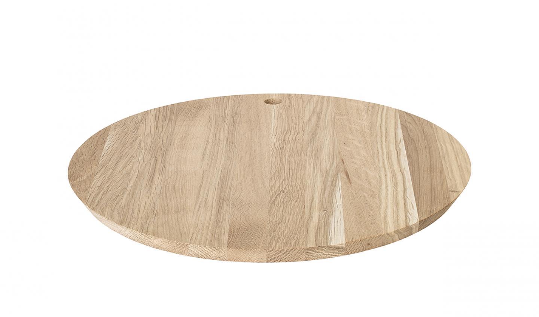 Kulaté prkénko BORDA 30 cm, dub - Blomus