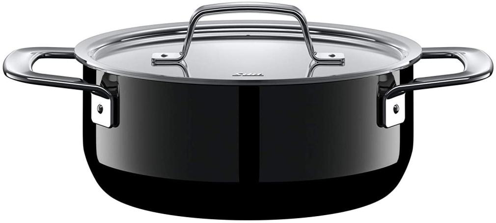 Kastrol 20 cm Zeno Black - Silit