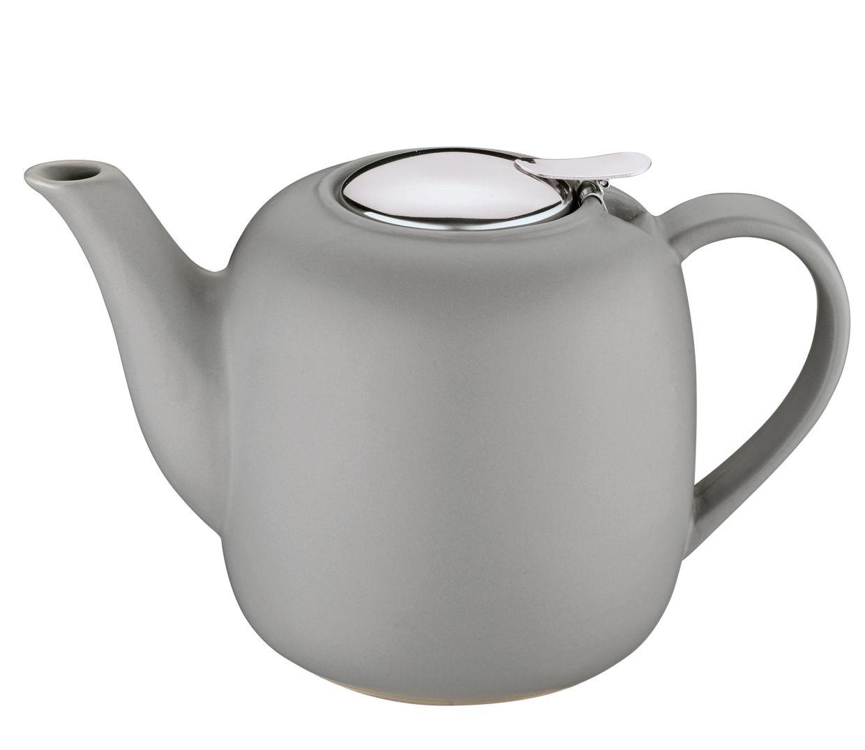 Čajová konvice s filtrem LONDON 1,5 l, šedá - Küchenprofi