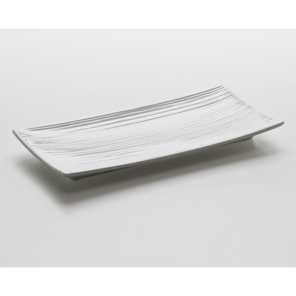 Obdélníkový podnos White Basics Cirque 24 x 11,5 cm - Maxwell&Williams