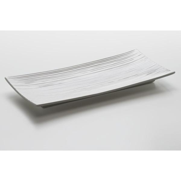 Obdélníkový podnos White Basics Cirque 29 x 13,5 cm - Maxwell&Williams
