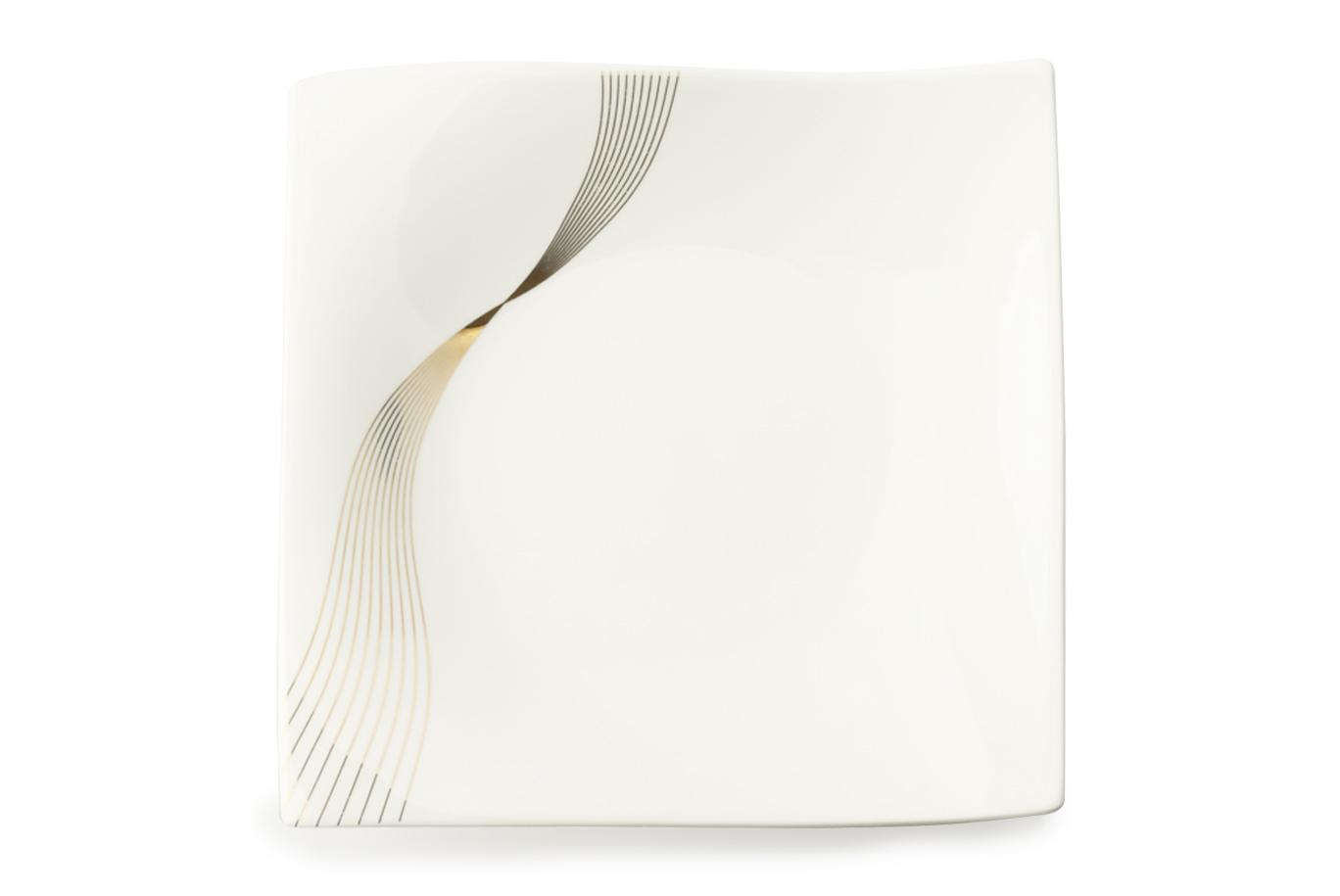Čtvercový dezertní talíř Frequency 18 x 18 cm - Maxwell&Williams