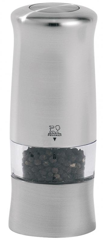 Elektrický mlýnek na pepř 14 cm nerez ZELI - Peugeot