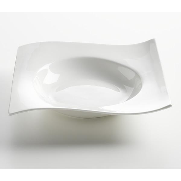 Čtvercový polévkový talíř Motion 22 x 22 cm - Maxwell&Williams
