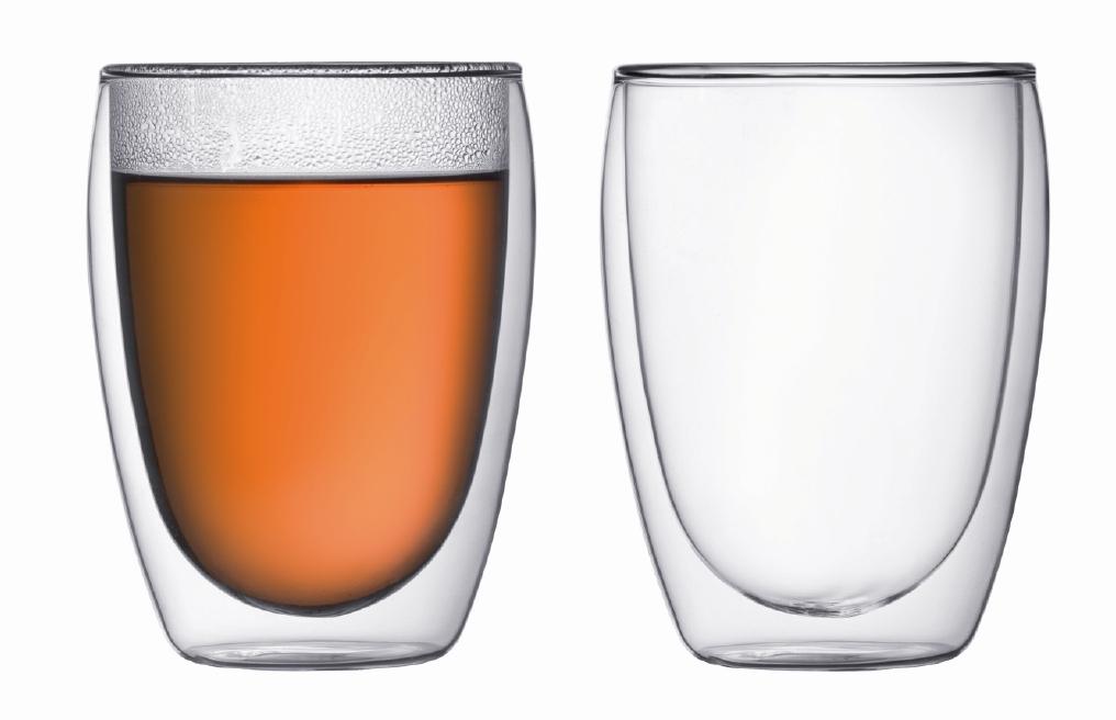 Set 2 ks Dvoustěnná sklenice PAVINA 0,35 l - Bodum