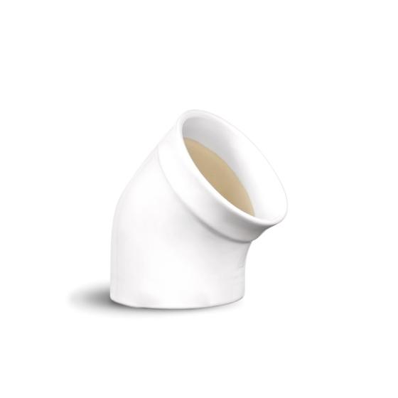 Dóza na sůl Flour bílá nugátová - Emile Henry