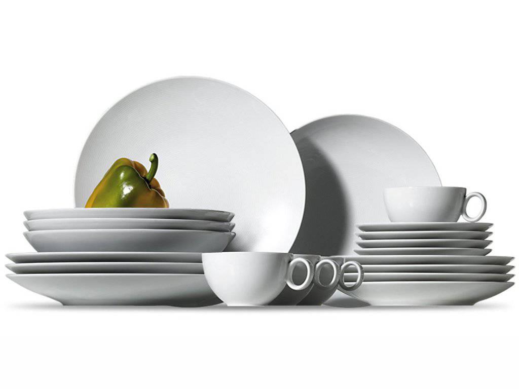 Loft Porcelánový set s šálky na čaj 16 ks - Thomas Rosenthal