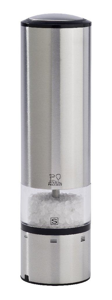 Elektrický mlýnek na sůl 20 cm ELIS nerez - Peugeot