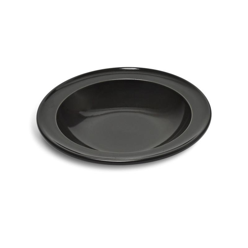 Talíř polévkový 22 cm Charcoal pepřový - Emile Henry