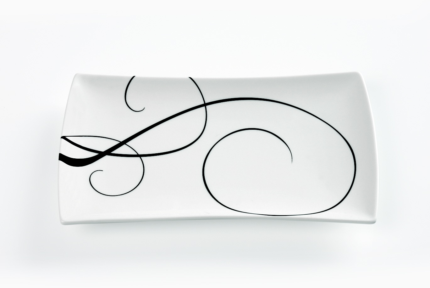 Obdélníkový talíř Breeze 20 x 11 cm - Maxwell Williams