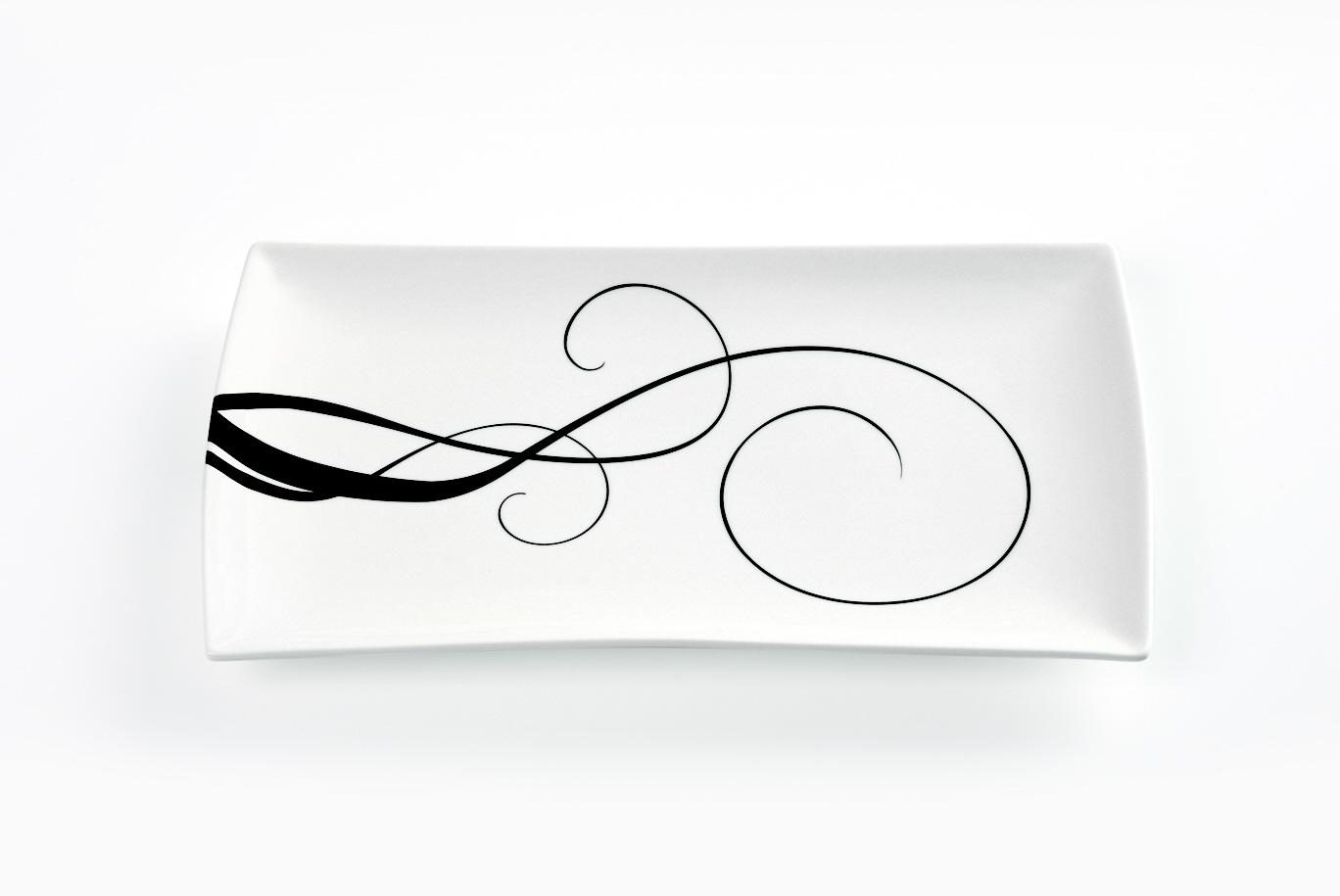 Obdélníkový talíř Breeze 30 x 17 cm - Maxwell Williams