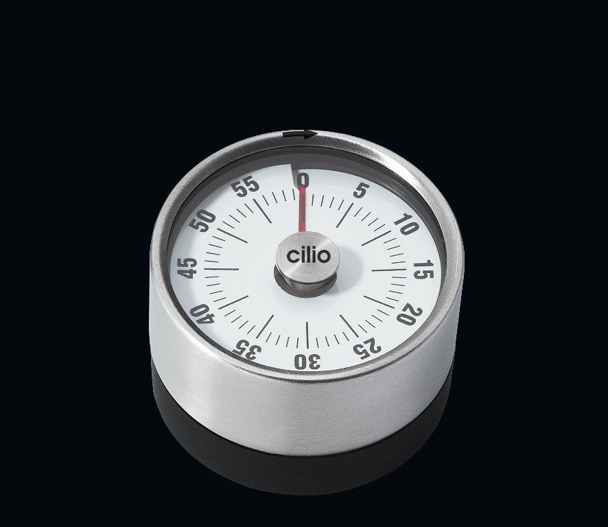 Kuchyňská minutka PURE nerezová 6 cm - Cilio