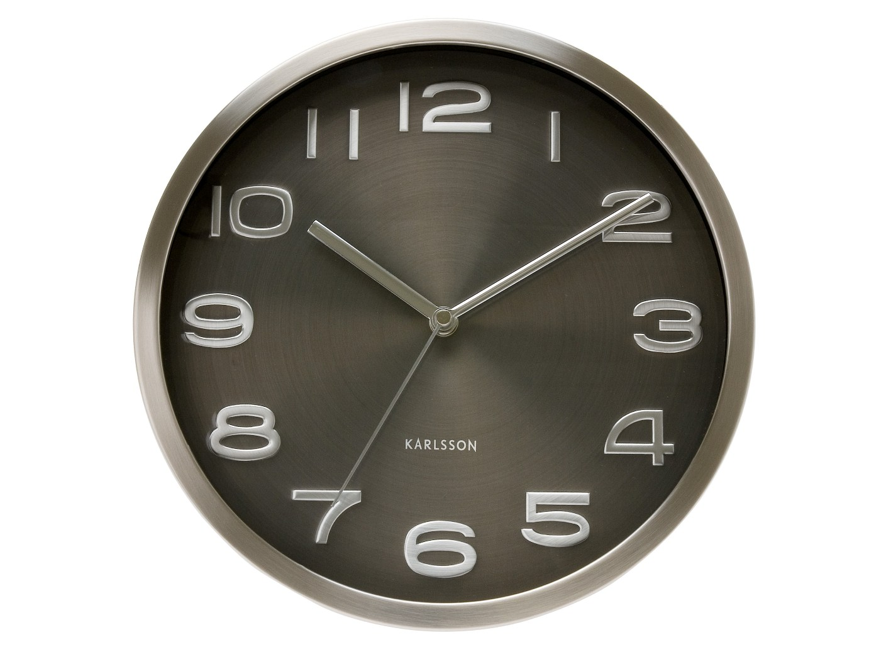 Nástěnné hodiny Maxie black 29 cm černé - Karlsson