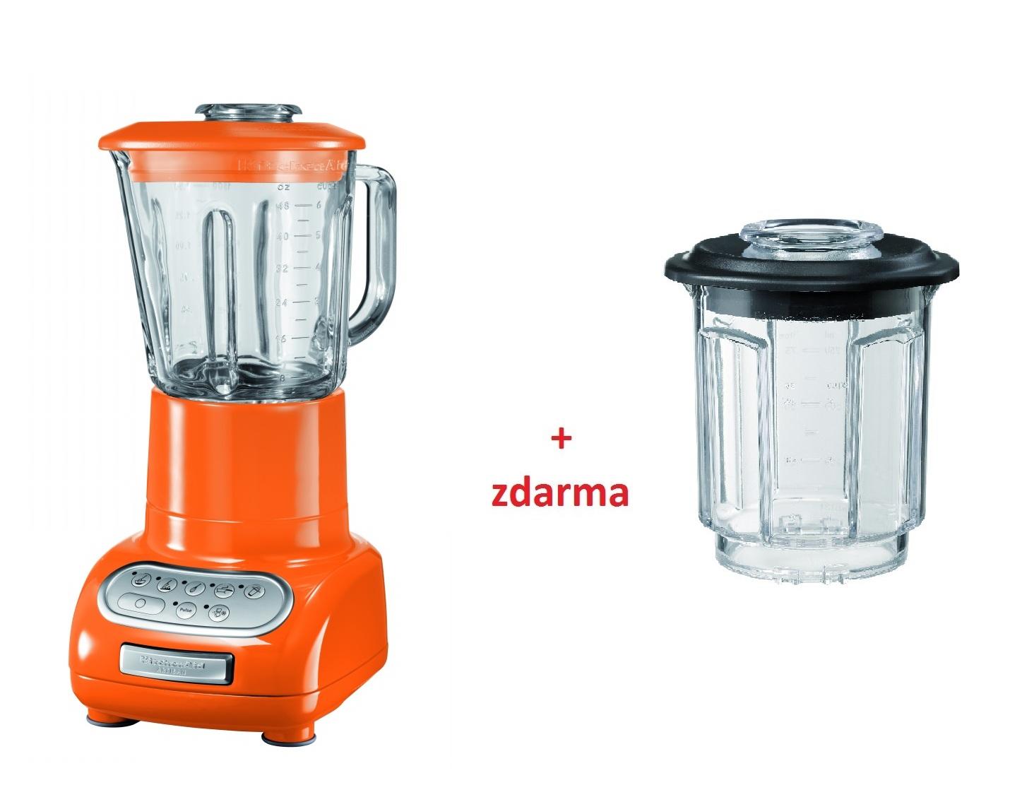 Kuchyňský mixér Artisan mandarinková - KitchenAid