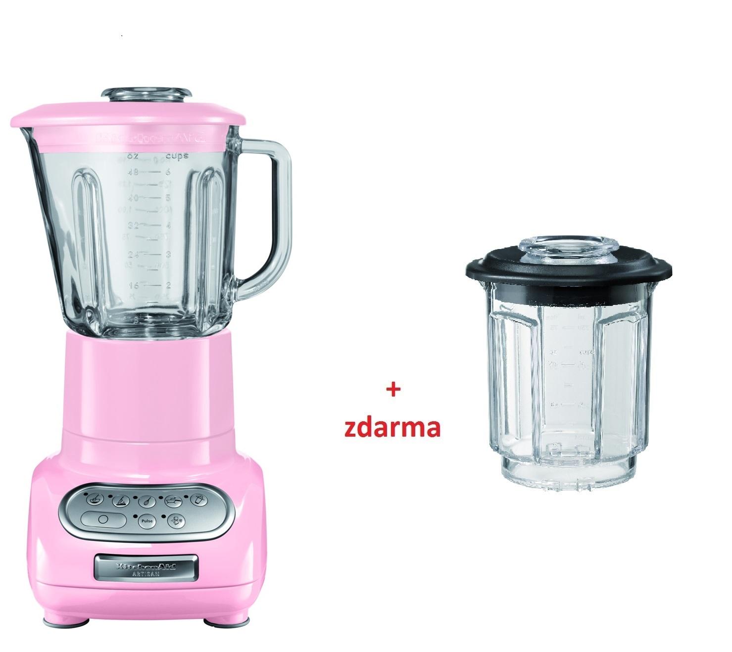 Kuchyňský mixér Artisan růžový - KitchenAid
