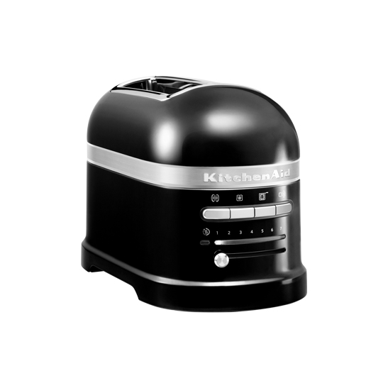 Toaster Artisan 2-plátkový černý - KitchenAid