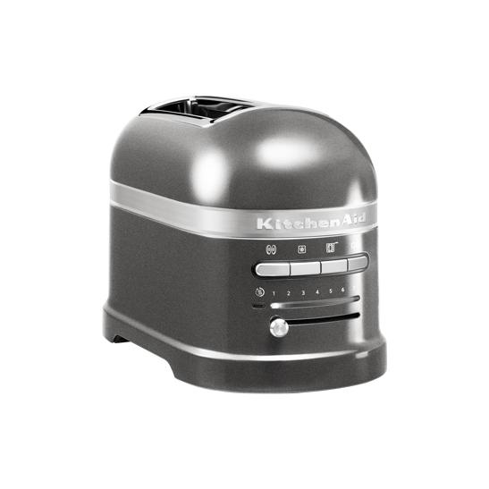 Toaster Artisan 2-plátkový stříbřitě šedý - KitchenAid