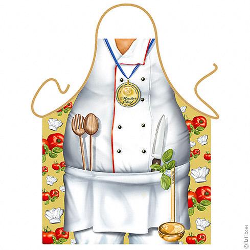 Kuchyňská Zástěra Mistr kuchař - ETS-Itati