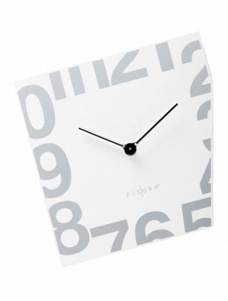 Nástěnné Esquina White 21 x 21 cm bílé - Fisura
